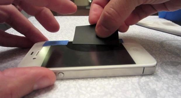 Как сделать для телефона стекло 149